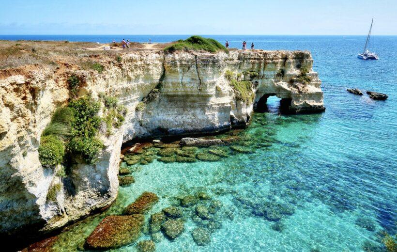 Pascià: Alimini - Tour in barca a Otranto