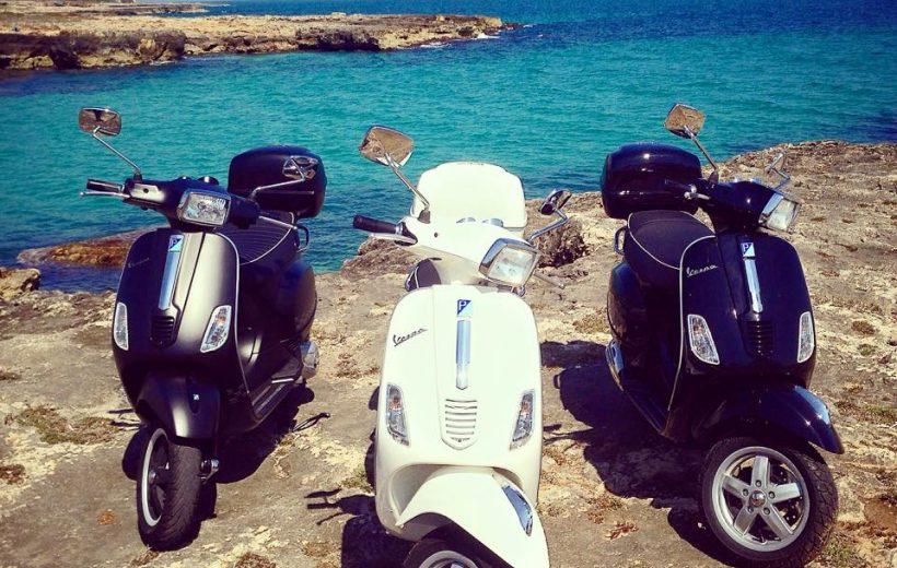 Noleggia la tua Vespa - Gira la Puglia in libertà!