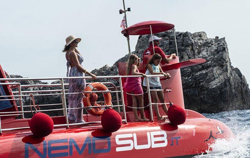 Tour in sommergibile alle Grotte di Polignano a Mare
