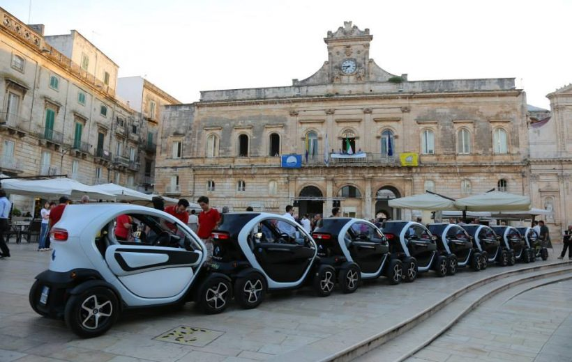 Eco Tour in Twizy in Valle d'Itria