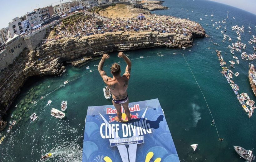 Red Bull Cliff Diving - Polignano a Mare